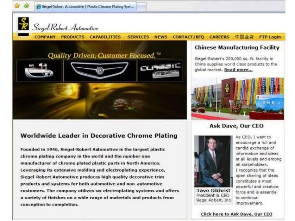 SR Automotive & Diversified Products